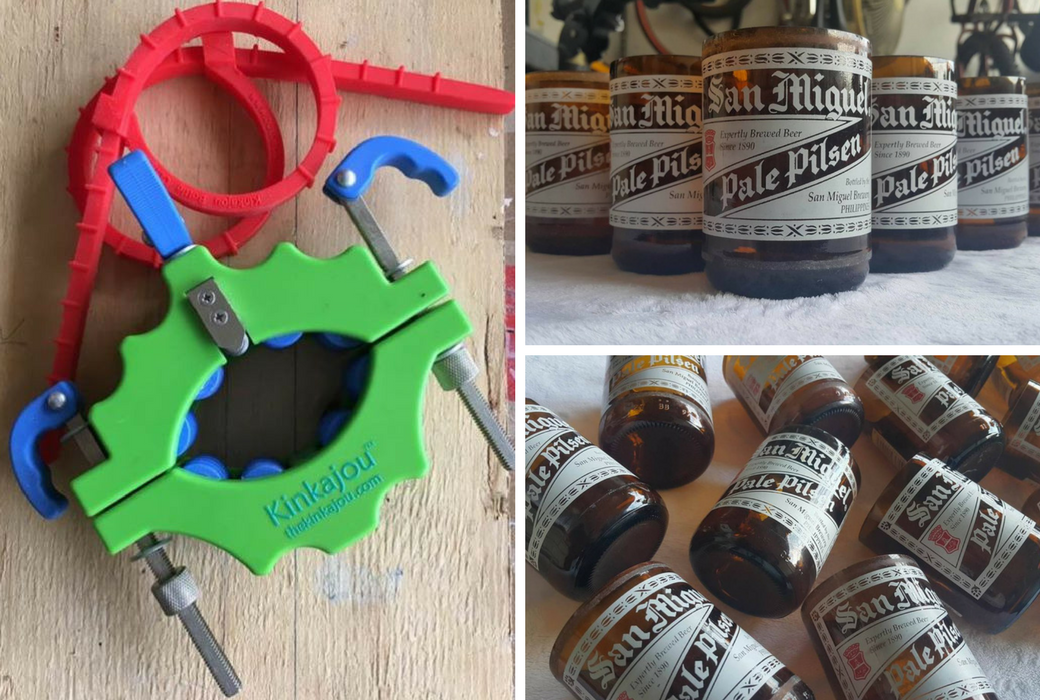 How to cut a beer bottle using the kinkajou bottle cutter for How to cut a beer bottle at home